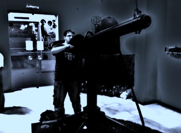 Eu no Museu Aero Especial - Rio de Janeiro