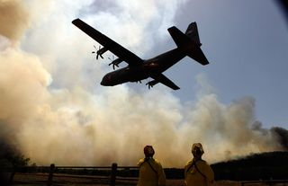 http://www.theatlantic.com/infocus/2011/04/texas-wildfires/100050/