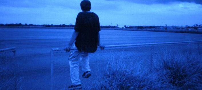 Eu, num dos lugares que costumava ir para pensar.